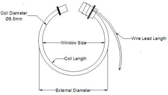 0-0.333V or 0-10V 4-20mA Output Flexible AC Current Probes