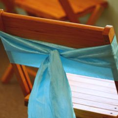 Chair Covers Under $1 Folding Chairs Cheap All Events: Event, Party And Wedding Rentals - Ohio: Turquoise Crinkle Sash