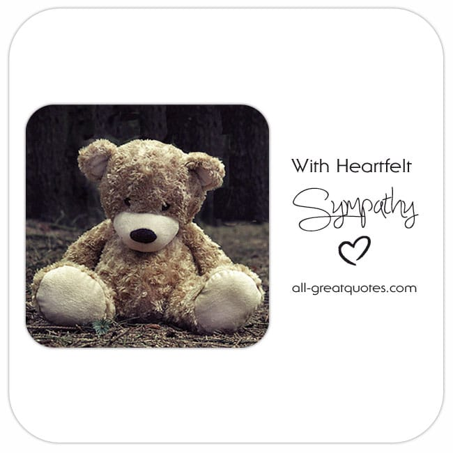 With Heartfelt Sympathy Share Sympathy Cards On Facebook