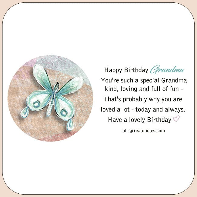 Birthday Wishes For Grandmother Nan Messages Poems To Write