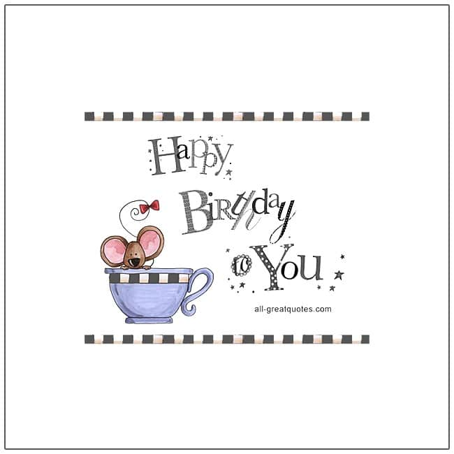 Happy Birthday To You Free Birthday Cards Facebook