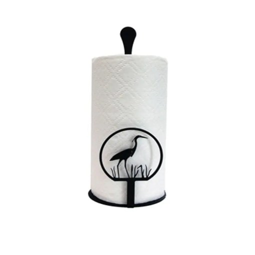 blue heron paper-towel