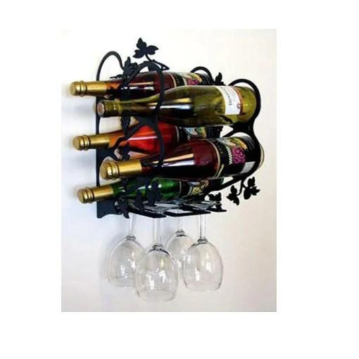 Large Wall Wine Rack