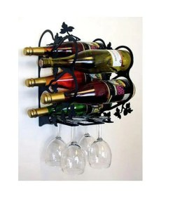 Large Wall Wine Rack