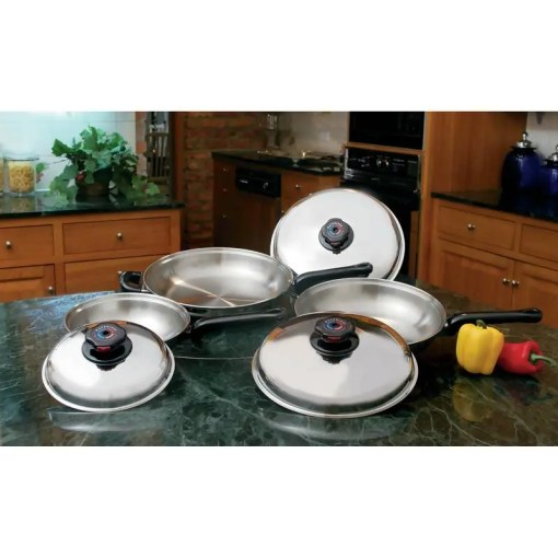 Waterless Skillets Set