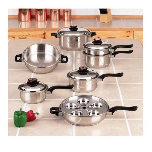 Worlds Finest Waterless Cookware Set