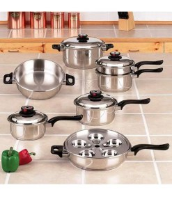 Worlds Finest Waterless Cookware Set