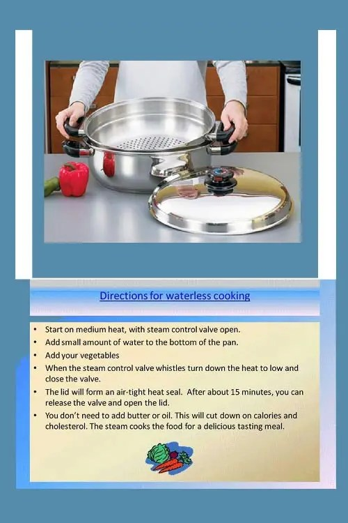 waterless-cooking-instructions