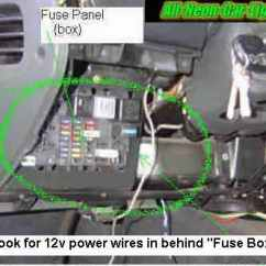 Mitsubishi Canter Radio Wiring Diagram Fender N3 How To Install Interior Car Lights - Neon And Led.