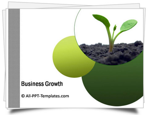 PowerPoint Business Plan Growth Template