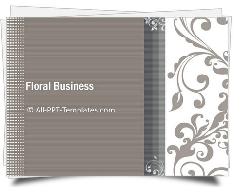 PowerPoint Floral Business Introduction Template