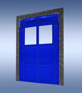 Retail Impact Door - Super-Seal Series 2000