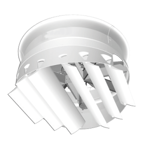 allrite hvls fans Absolute Air Fan - Bottom View