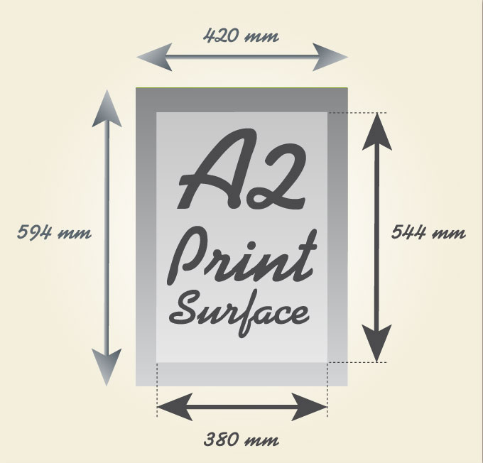 a2 paper size all