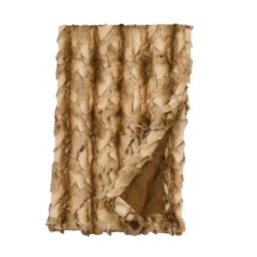 Brandy Fox Throw Blanket