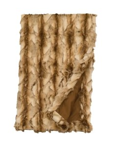 Brandy Fox Throw Blanket