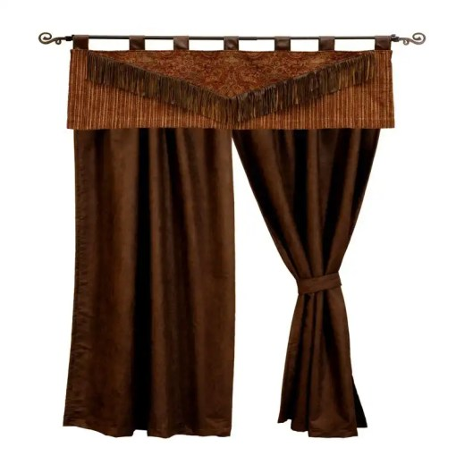 milady western curtains