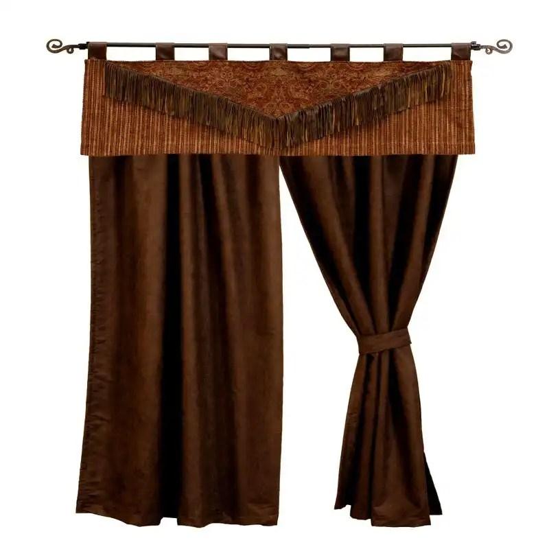 milady western curtains