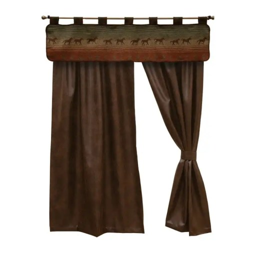 mustang western curtains