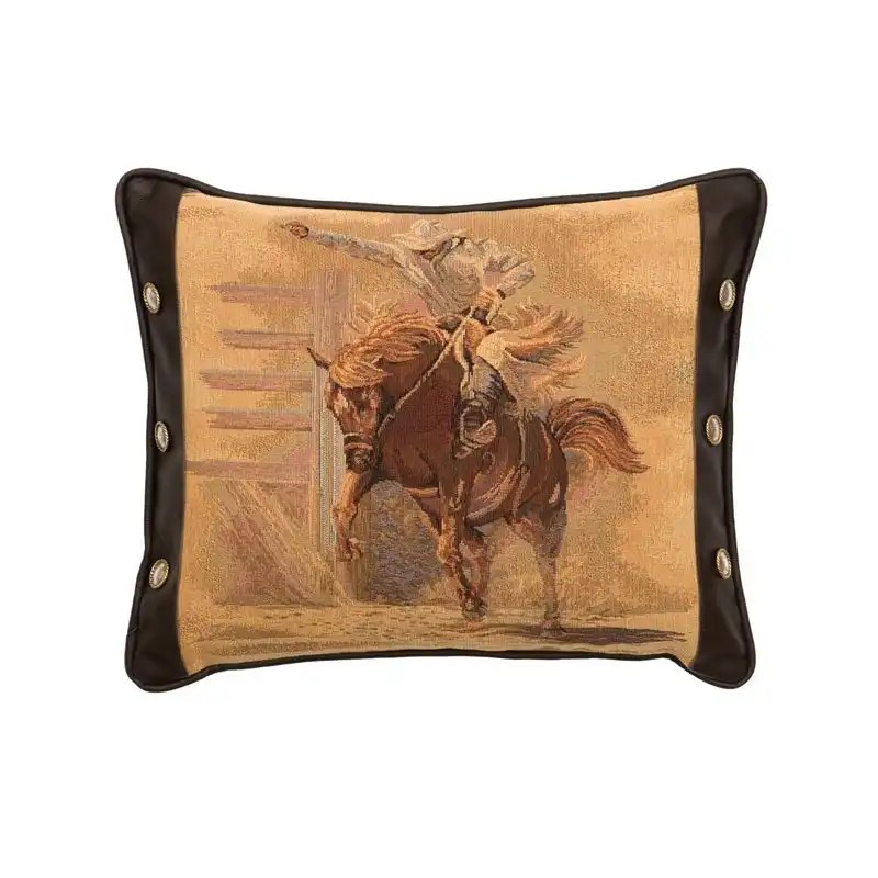 Western Rodeo Pillow