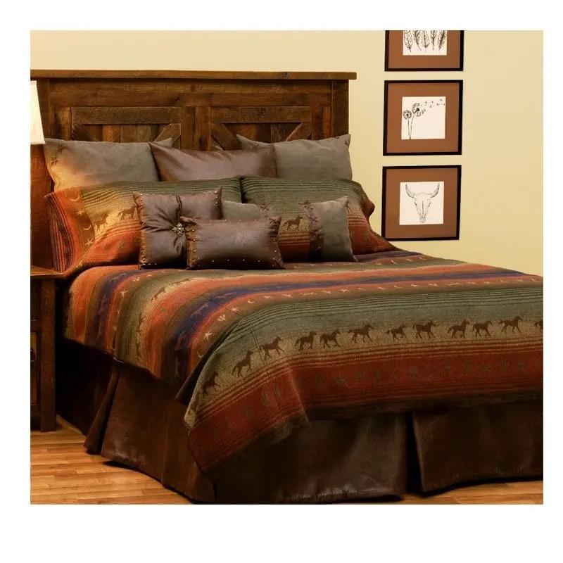 mustang canyon bedspread
