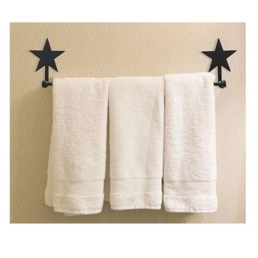 Lone Star Wall Towel Rack