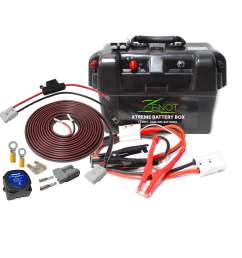 zenot extreme dual battery box jump starter vehicle wiring kit all 12 volt [ 2469 x 2469 Pixel ]