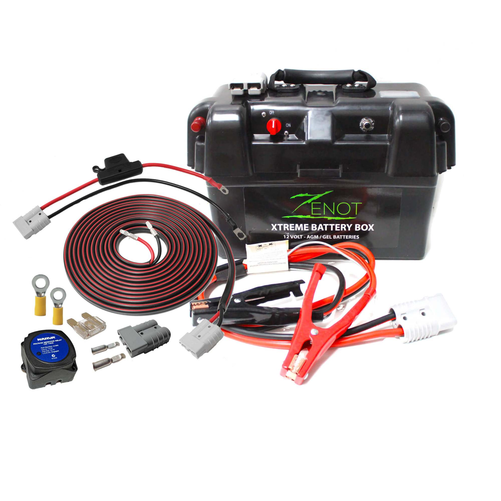 hight resolution of zenot extreme dual battery box jump starter vehicle wiring kit all 12 volt
