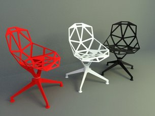 chair design model cheap covers uk 12517chair005 modern and pvc chairs 3d models