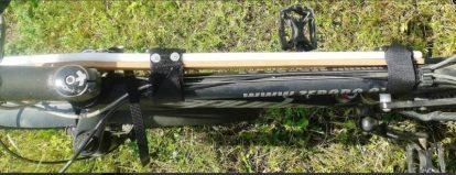 Détail barre de traction Rowerland CanitVTT