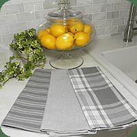 gray kitchen towels copper items dishtowels tea granite towel collection
