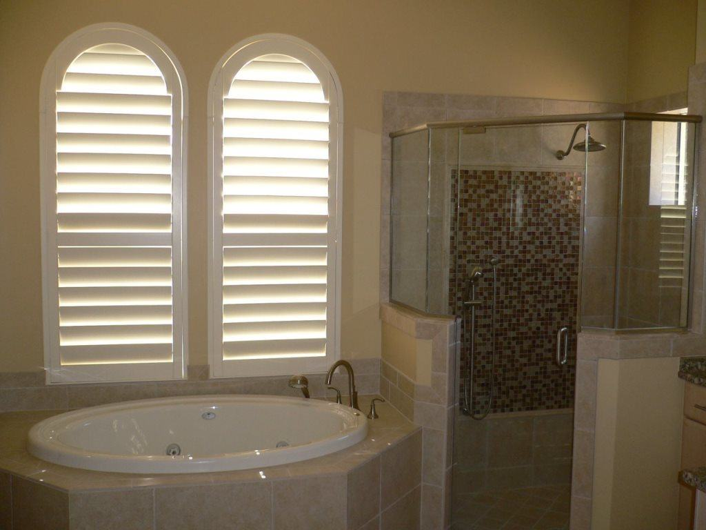 Half Circle Louvered Arches Jacksonville Blinds