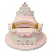 Princess Pillow Birthday Cake