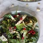 Quinoa Salat mit Cashewnüssen und Granatapfelkernen