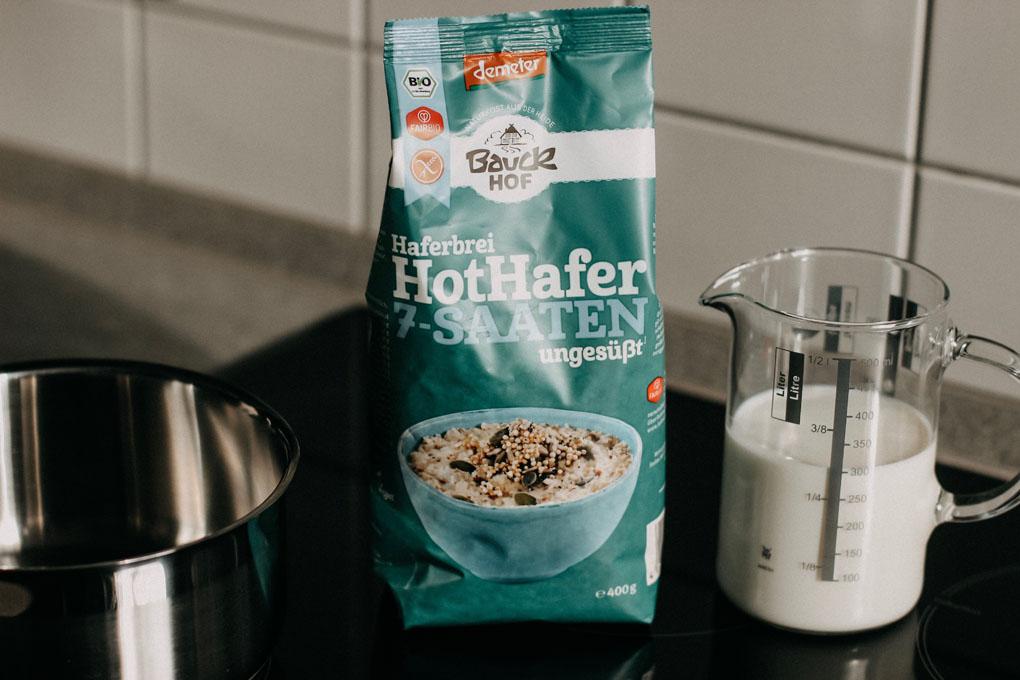 Haferbrei Hot Hafer 7-Saaten von Bauckhof