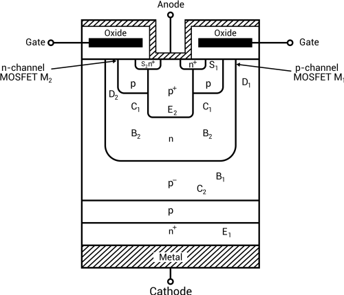 small resolution of schematic diagram of p type mct