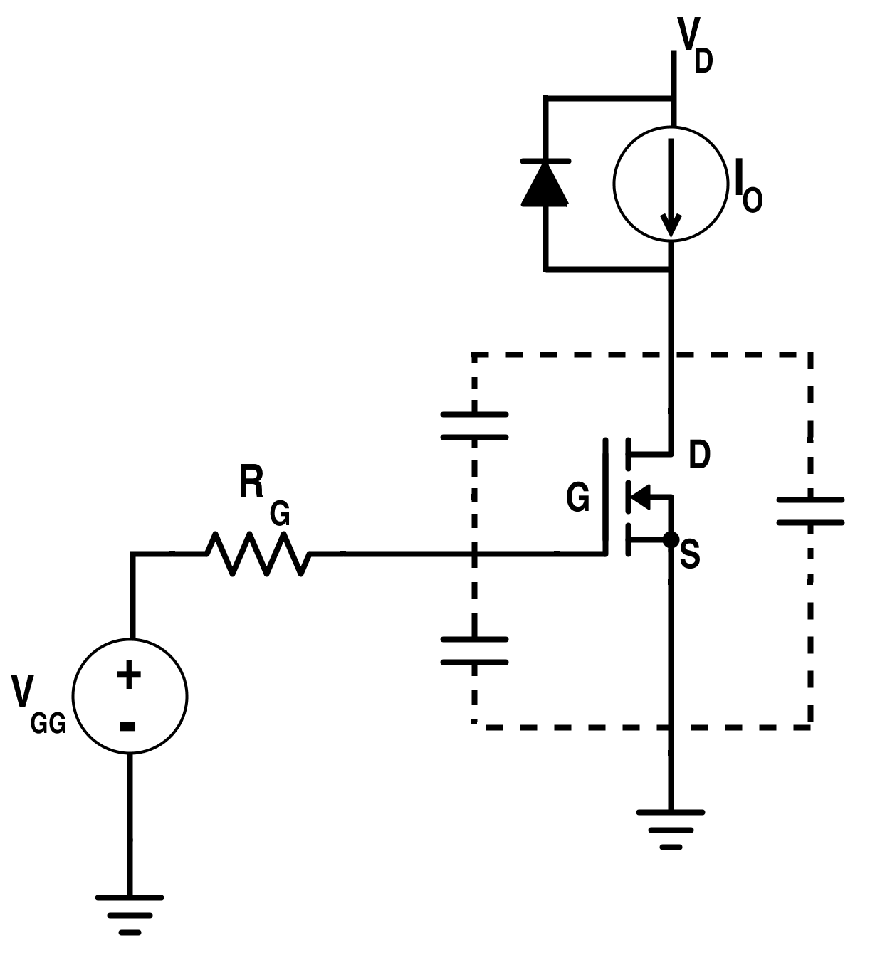 mosfet current source circuit
