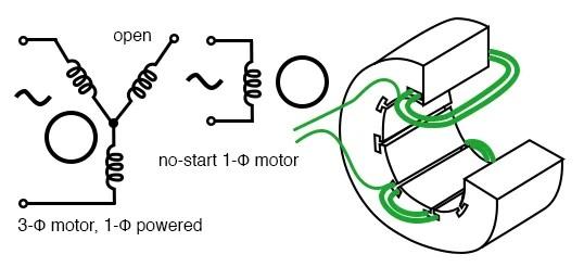 Single Phase 4 Pole Induction Motor Wiring Diagram