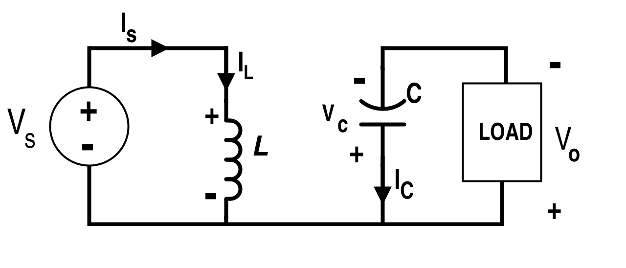 Analysis of Four DC-DC Converters in Equilibrium