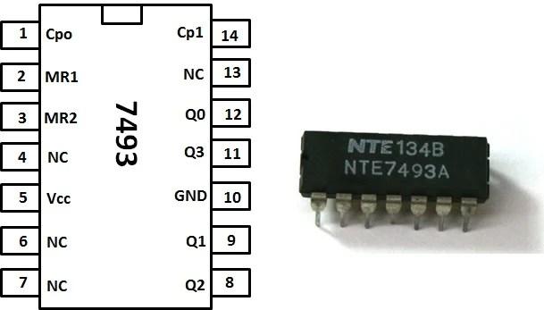 data wiring diagram printable human anatomy glands build a 4-bit binary counter with 5x7 led matrix