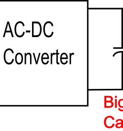 block diagram of ac dc convert with output filter capacitor  [ 3318 x 1442 Pixel ]
