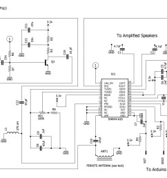 the radio receiver schematic click to enlarge  [ 1280 x 980 Pixel ]