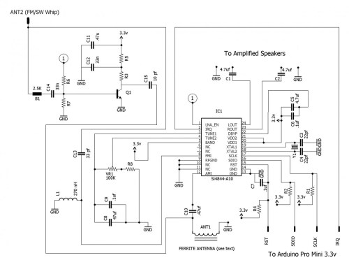 small resolution of the radio receiver schematic click to enlarge