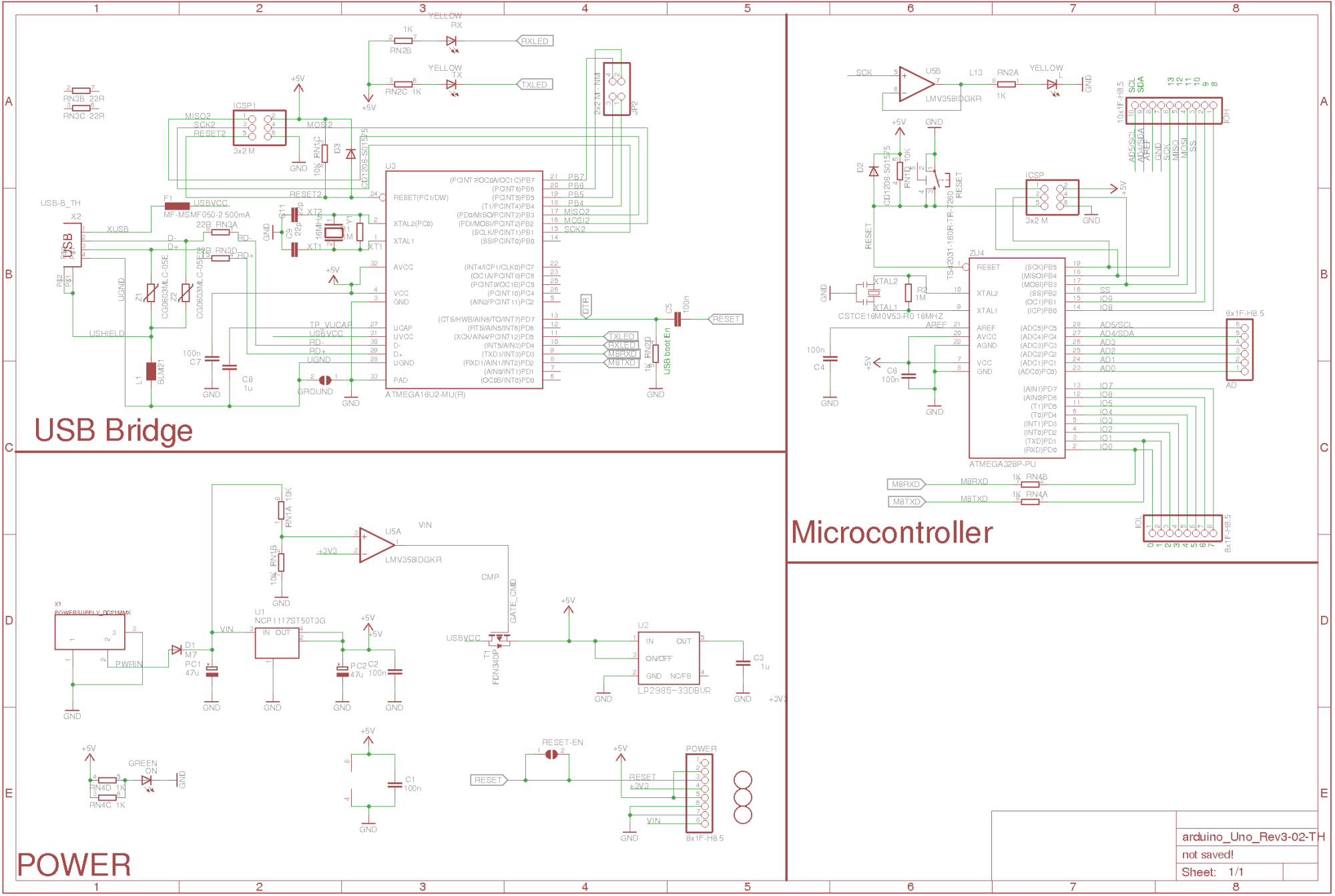 hight resolution of redistributed version of original arduino schematic