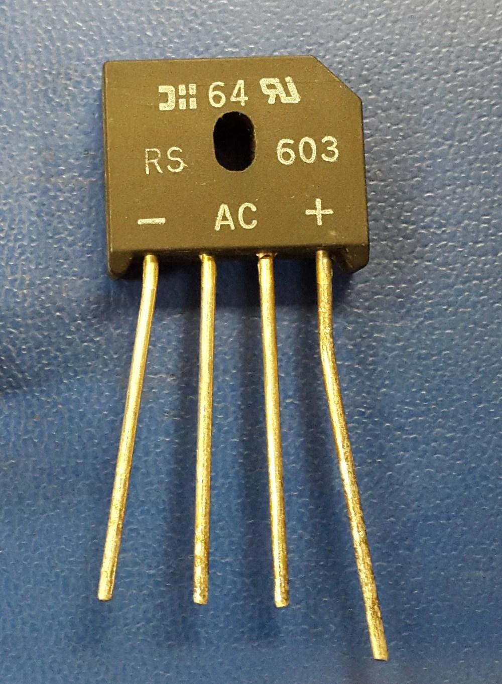 medium resolution of the bridge rectifier