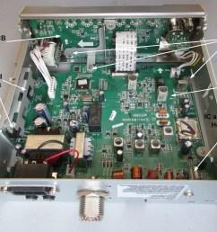 teardown tuesday uniden cb radio news circuit board schematics uniden [ 1726 x 1299 Pixel ]