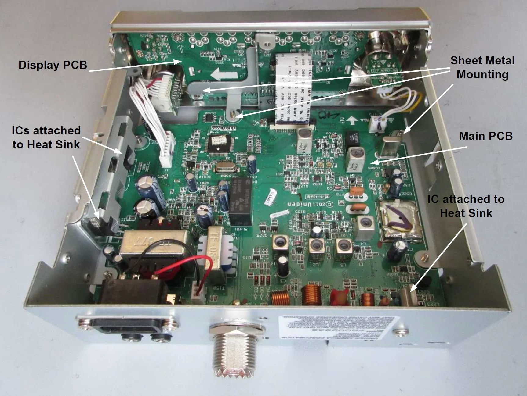 hight resolution of teardown tuesday uniden cb radio news circuit board schematics uniden