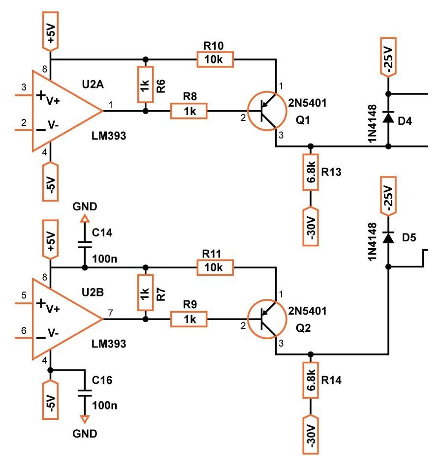 hight resolution of comparator