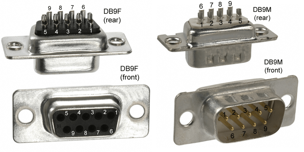 medium resolution of assuming you have an rs232 port available on the pc you need to locate the three leads to connect to the picaxe each of the db9 pins has a specific number