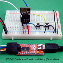 Pc Power Supply Wiring Diagram Tj Subwoofer Breadboard And Program An Esp-01 Circuit With The Arduino Ide